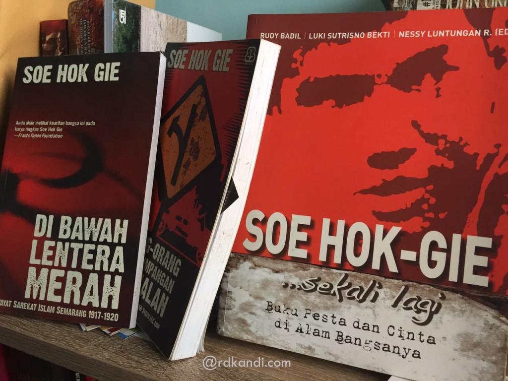 Buku-buku Soe Hok Gie.