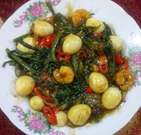 Kangkung Saus Tiram (Foto: Kandi)