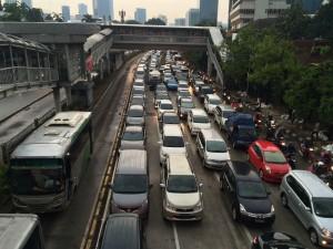 Foto: Ilustrasi lalu lintas di Jakarta. (kandi)