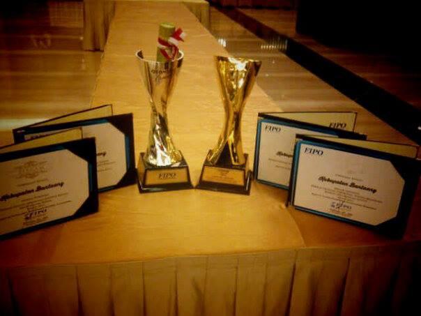 Otonomi Award 2014 yang diperoleh Kabupaten Bantaeng. (Foto: Situs Resmi Kab Bantaeng)
