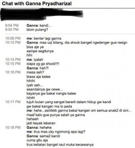 Percakapan 25 Februari 2008